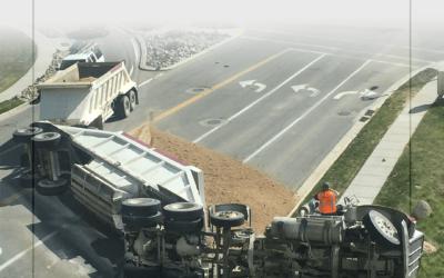 ¿Quién es responsable después de un accidente de camión?