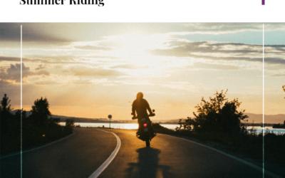 Estadísticas de accidentes de motocicletas y consejos de seguridad para conducir en verano