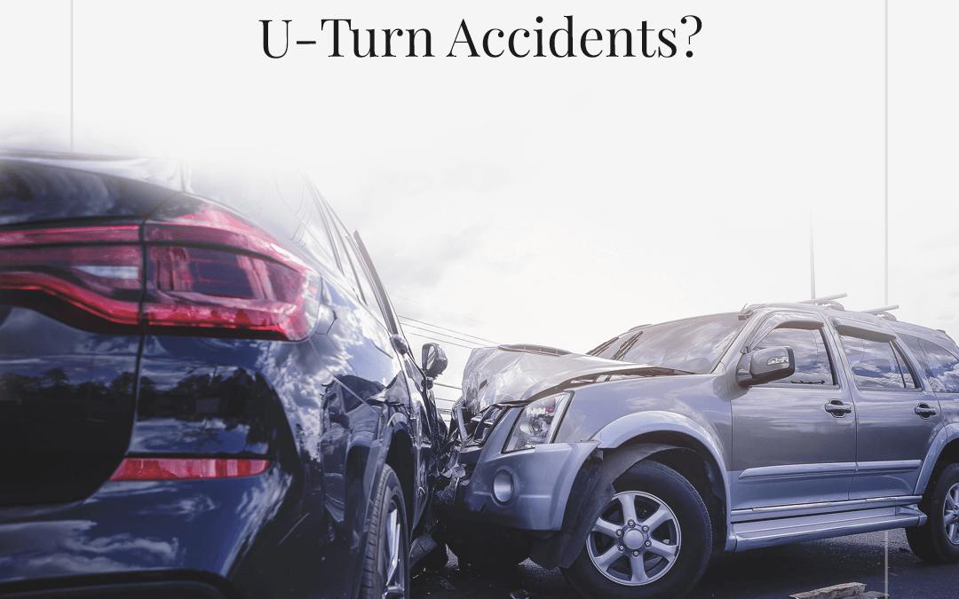 ¿Quién tiene la culpa de los accidentes de giro en U?