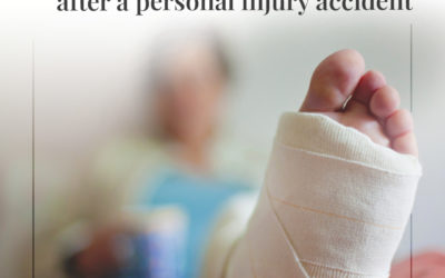 Consejos para volver al trabajo después de un accidente con lesiones personales