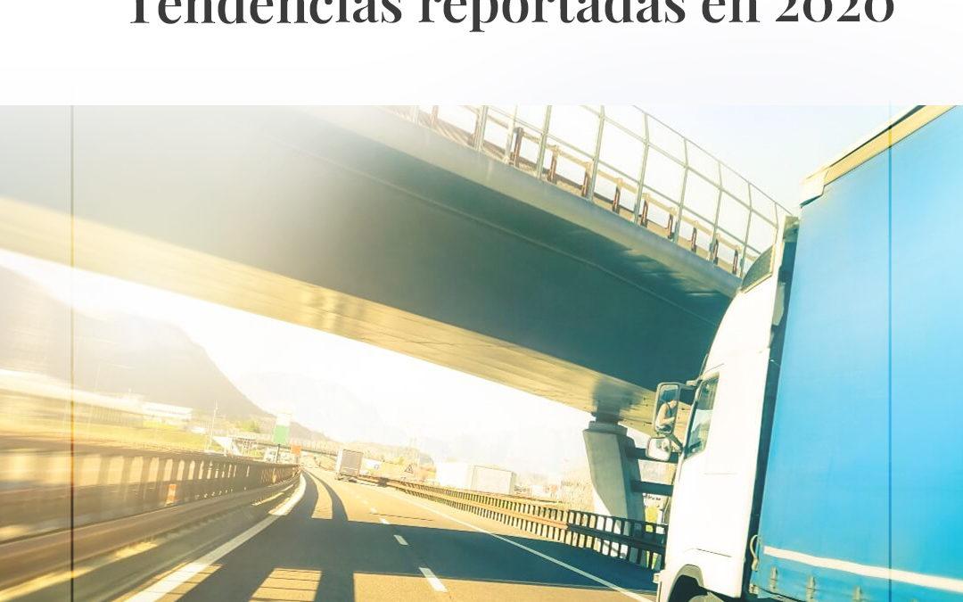 Tendencias inquietantes de seguridad vial reportadas en 2020
