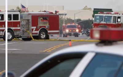 ¿Quién es responsable de un accidente que involucre un vehículo de emergencia?