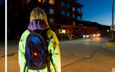 Accidentes de peatones en la noche